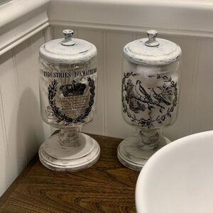 Apothecary Bath Jars