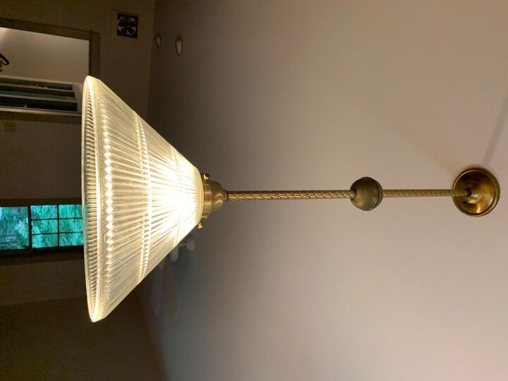 q how to paint pendant lights without taking them down