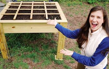 Elevated Raised Garden Bed