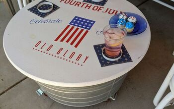 Make a Patio Coffee Table/Party Beverage Tub