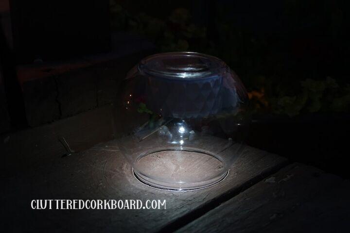 diy solar light idea s using items mostly from dollar tree