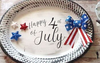 DIY Fun Idea's for the 4th of July Using Items Mostly From Dollar Tree
