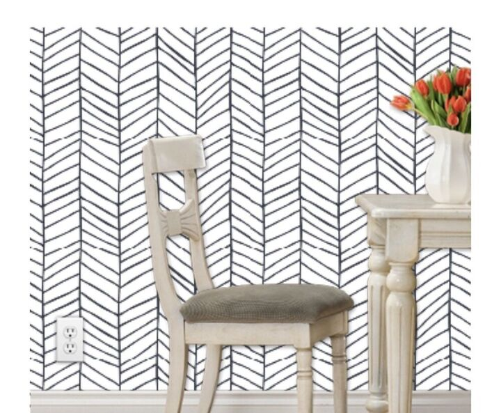 diy herringbone wall, Wallpaper Inspo