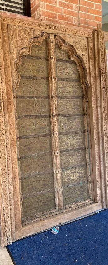 q paint ideas for a haveli persian door