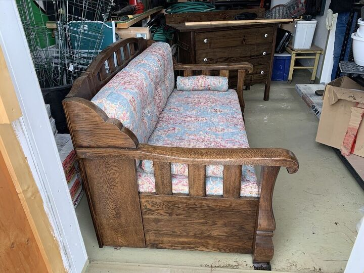 old bed to sofa
