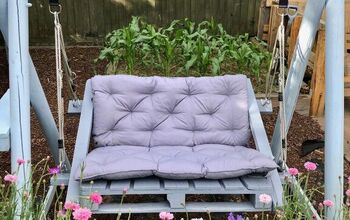 Make a Swing Seat From Pallets
