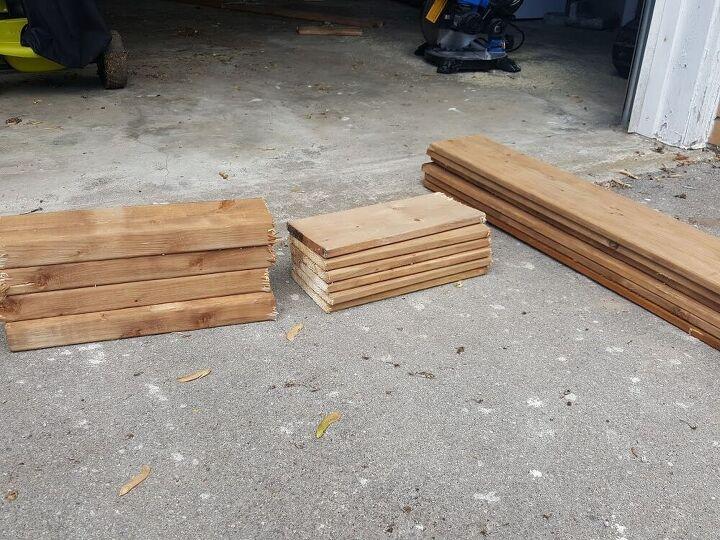 easy fence board planter box