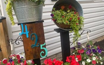 How to Fill a Whiskey Barrel With Flowers - Level Up