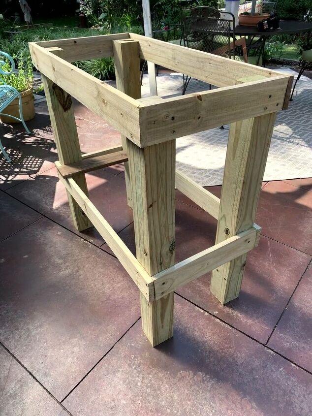 make your own garden work table