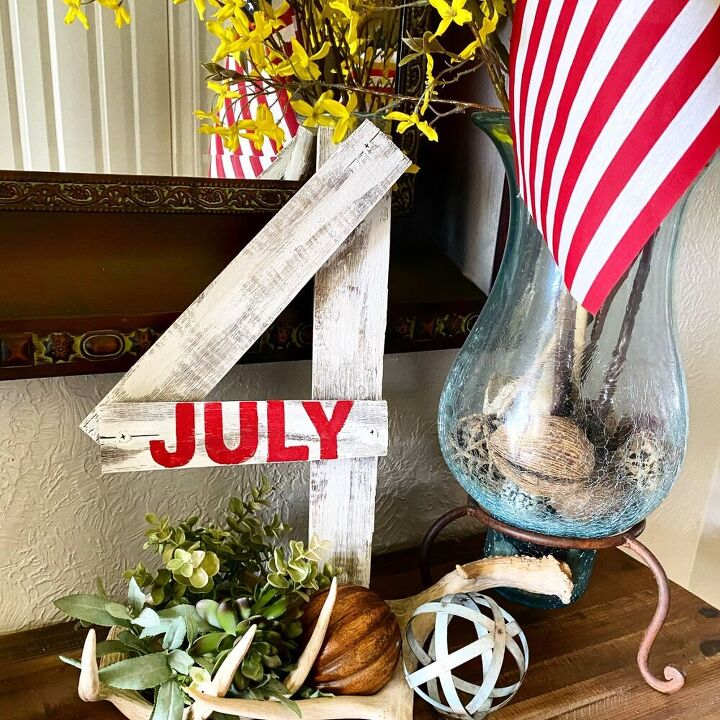 quick 4th of july project