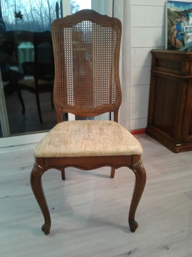 quick and easy chair redo