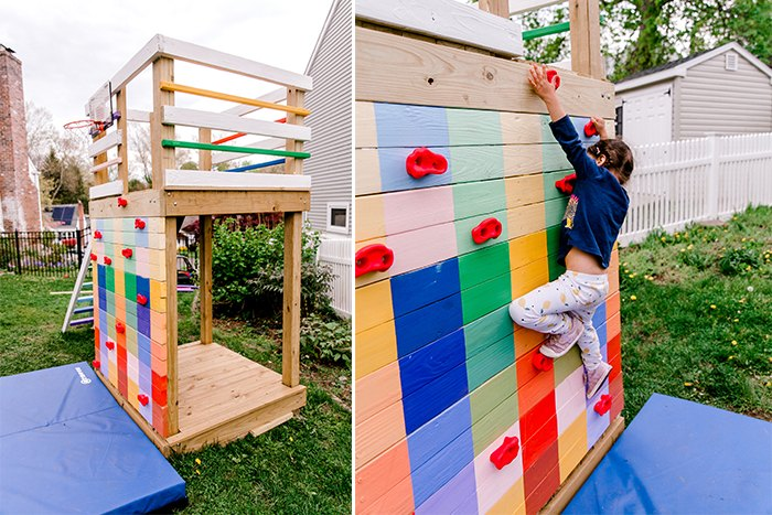 fantastic diy playground