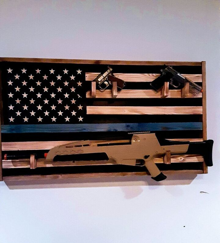 diy wood american flag for your heros