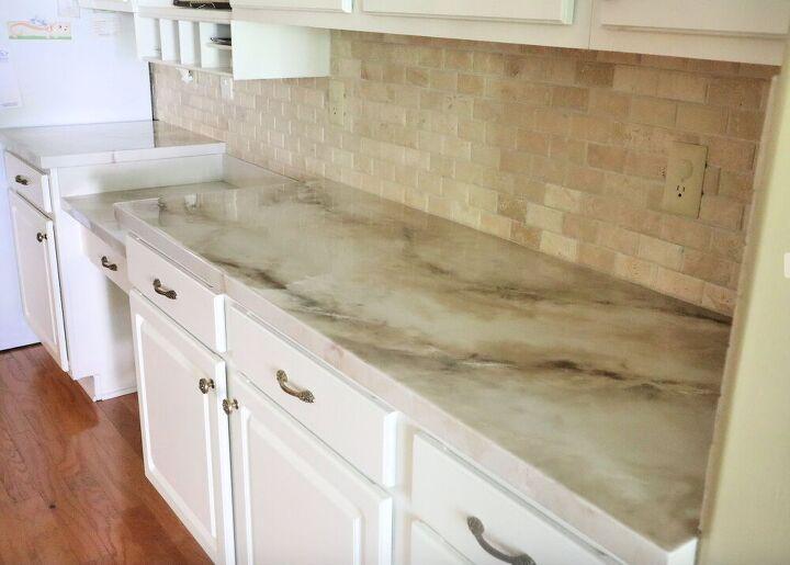 epoxy over laminate counters