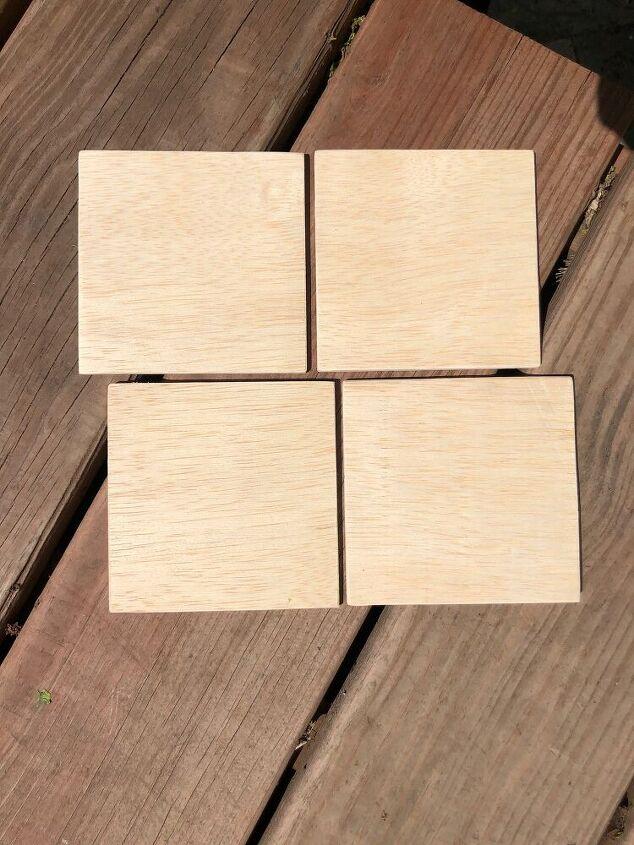 easy custom wooden coasters
