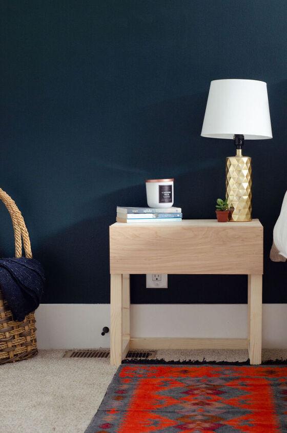 diy modern nightstand