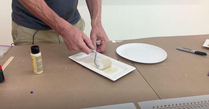 Coat Roller in Paint