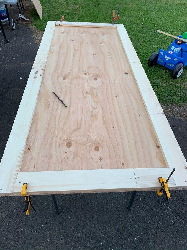 diy classic closet door plywood