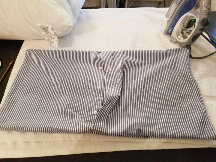 q old shirt turns fun pillow