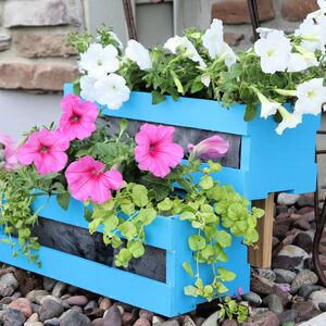 Tiered Crate Planter