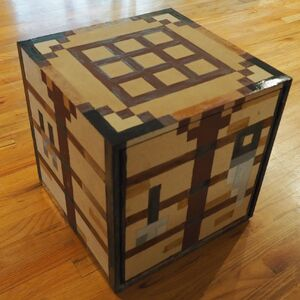DIY Minecraft Table