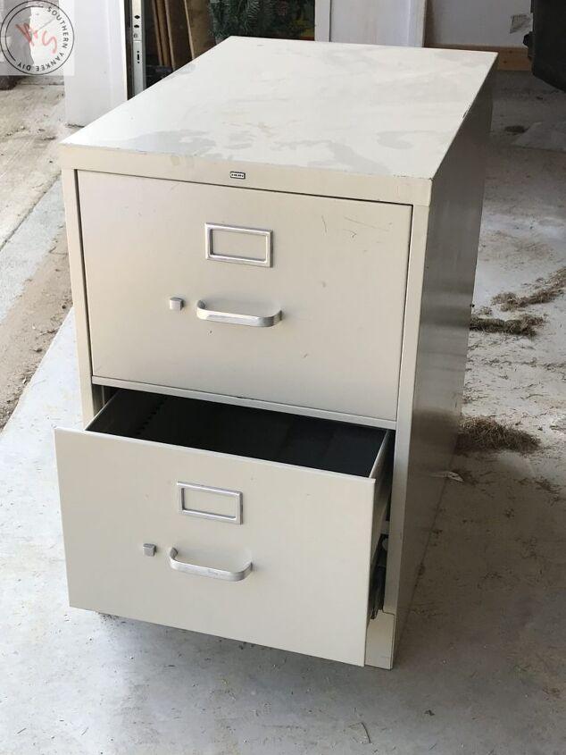 diy file cabinet transformation