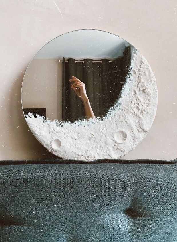 q how do i get cement on a mirror