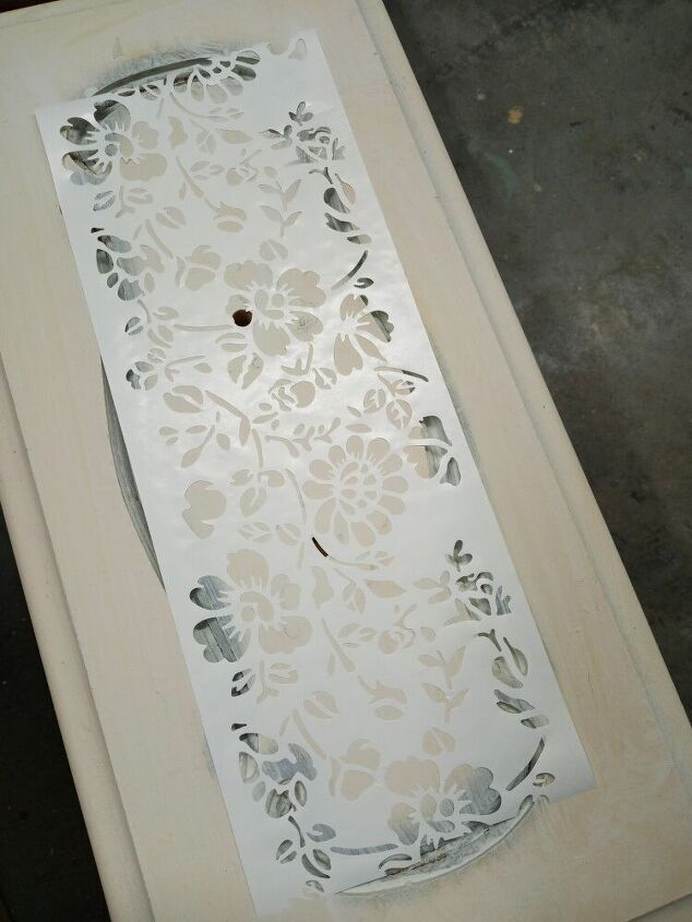 raised stenciling the easy way