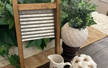 Farmhouse DIY Washboard