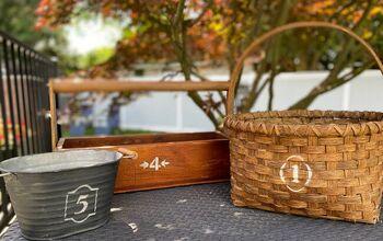 Refurbish Old Baskets