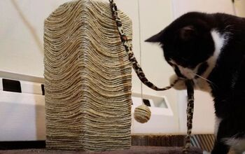 Create a DIY Cat Tree With Upcycled Items