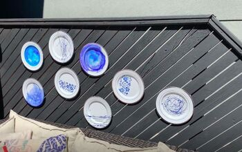 Add Some Beauty to Your Fence With DIY Decorative Plates