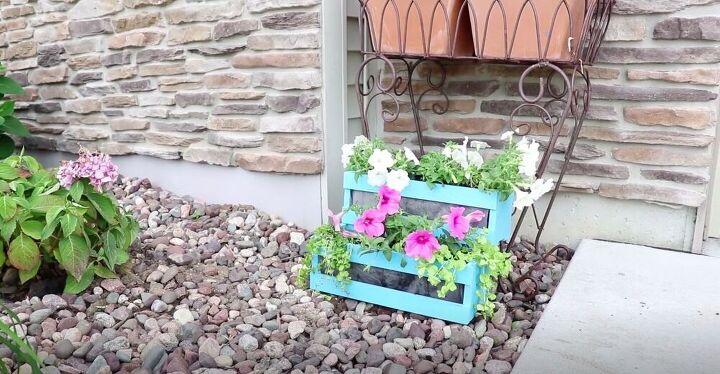 DIY Tiered Porch Planter