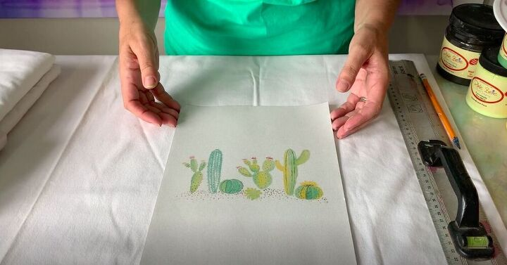 DIY Cactus Painting