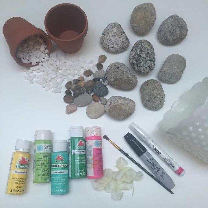 how to make an easy diy rock cactus