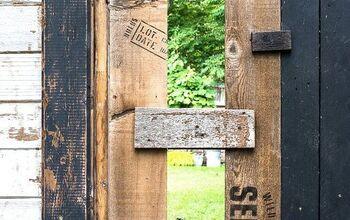 How to Build the Cutest Garden Gate From Scrap Wood in an Hour!