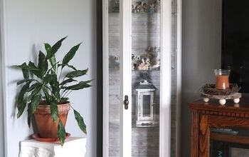 Updating My Curio Cabinet to Farmhouse Style!