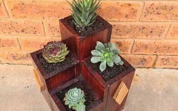 DIY Tiered Pallet Wood  Planter