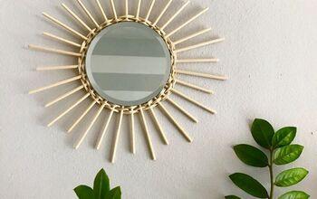 Rattan Mirror DIY | PINTEREST INPIRED