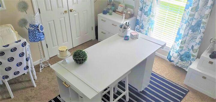 craft room workstation tutorial