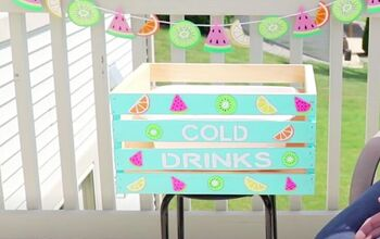 Party It Up With This DIY Outdoor Beverage Cooler