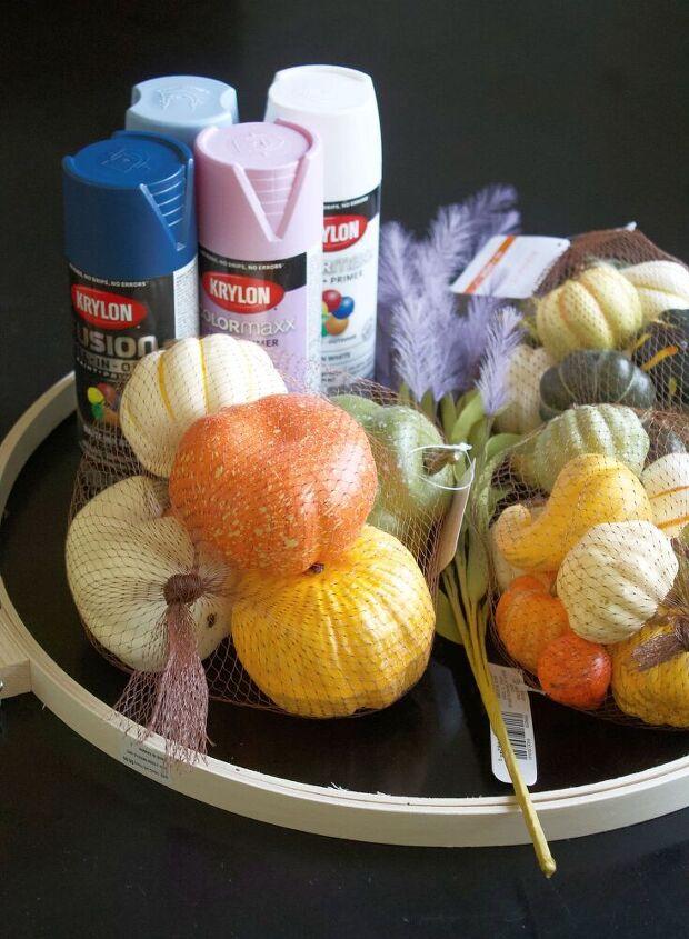 pumpkin fall wreath diy