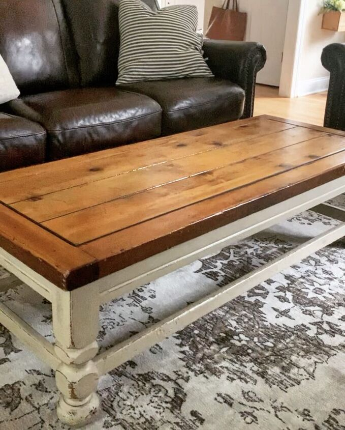 Before the Coffee Table Makeover