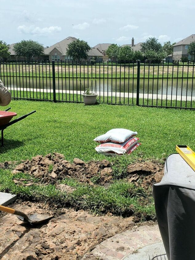 create a customized grill landing pad