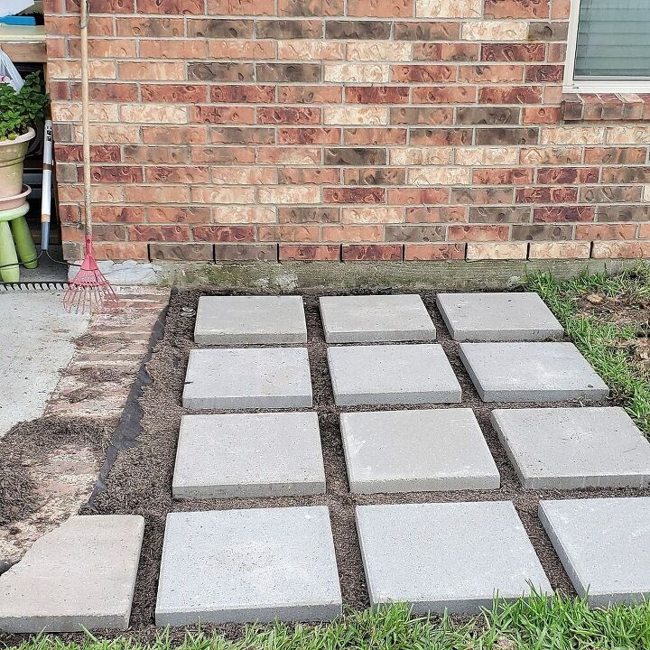 how to make a grill landing pad