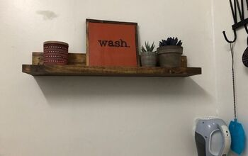 Picture Ledge/Shelf Out of Scrap Wood