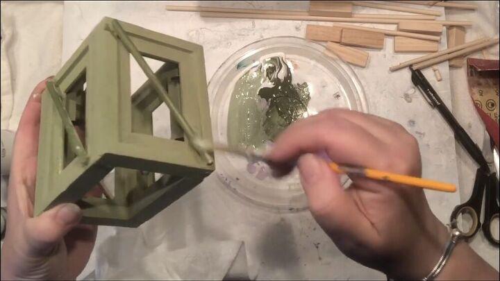 mini lantern diy