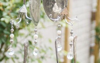 DIY Your Own Wind Chimes Using Vintage Silverware