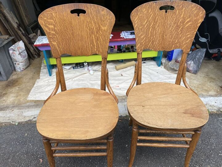 q how do i made and attach cushions to these chairs