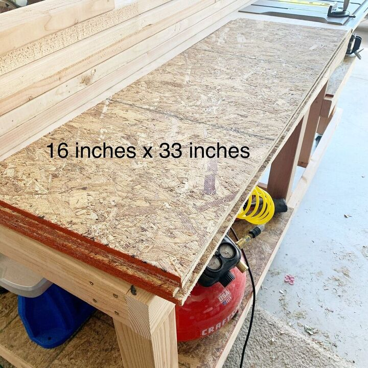 wood diy garage shelves
